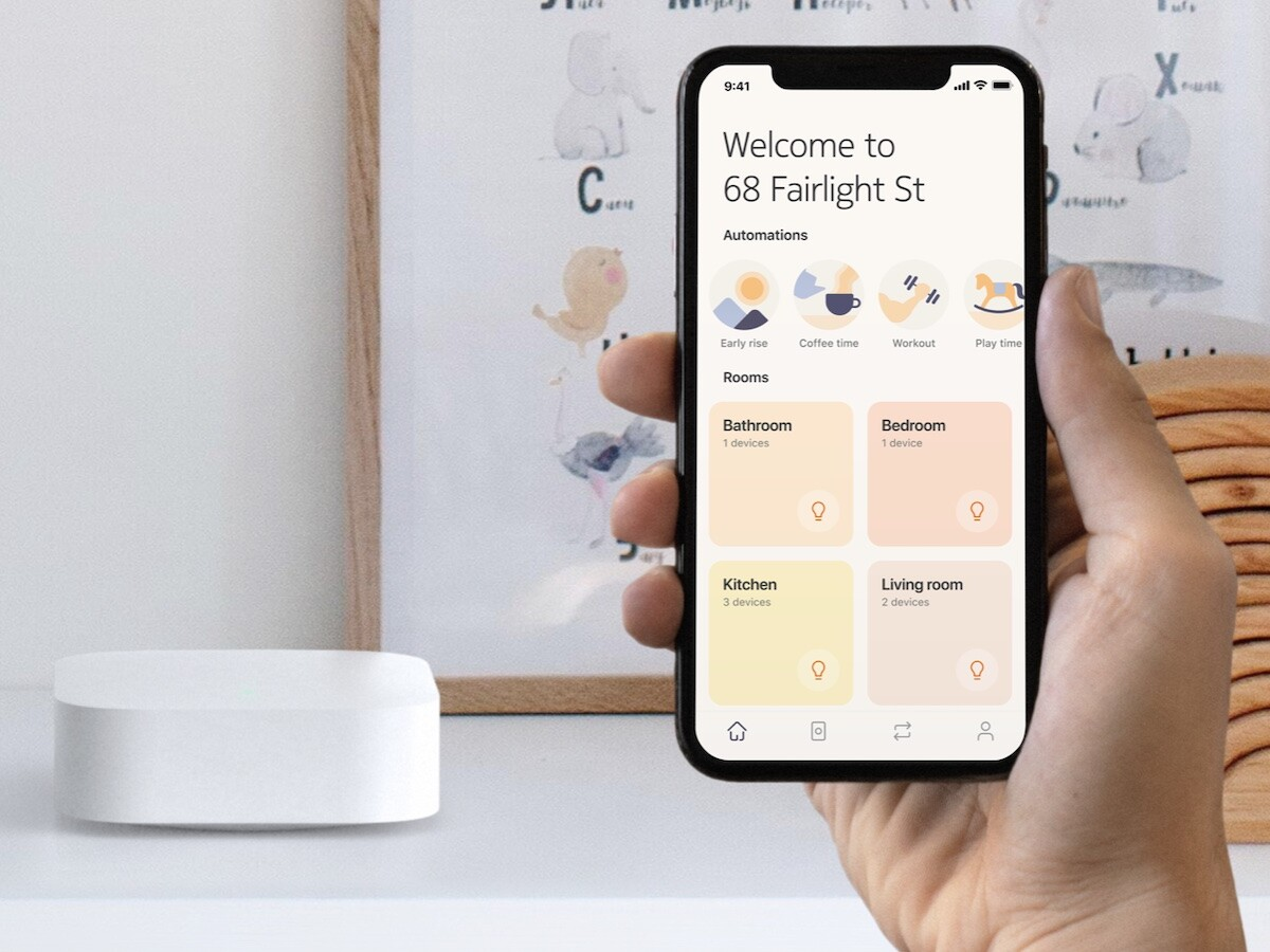 Nokia Smart Lighting Bridge lets you control your lights with an app or voice assistant