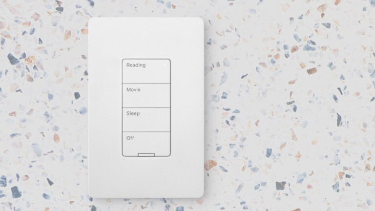 Nokia Smart Lighting Keypad helps you control the lights around your home from 1 location