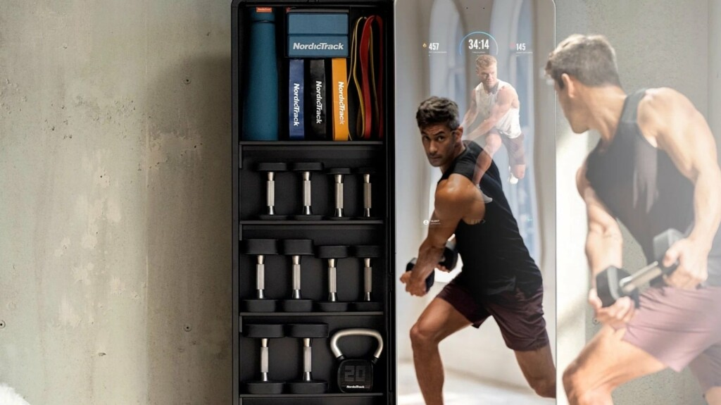 Stay healthy and fit with these gadgets and accessories NordicTrack Vault premier home gym