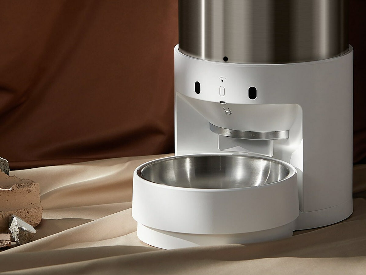 PETKIT Fresh Element Infinity automatic smart pet feeder prevents overloaded food