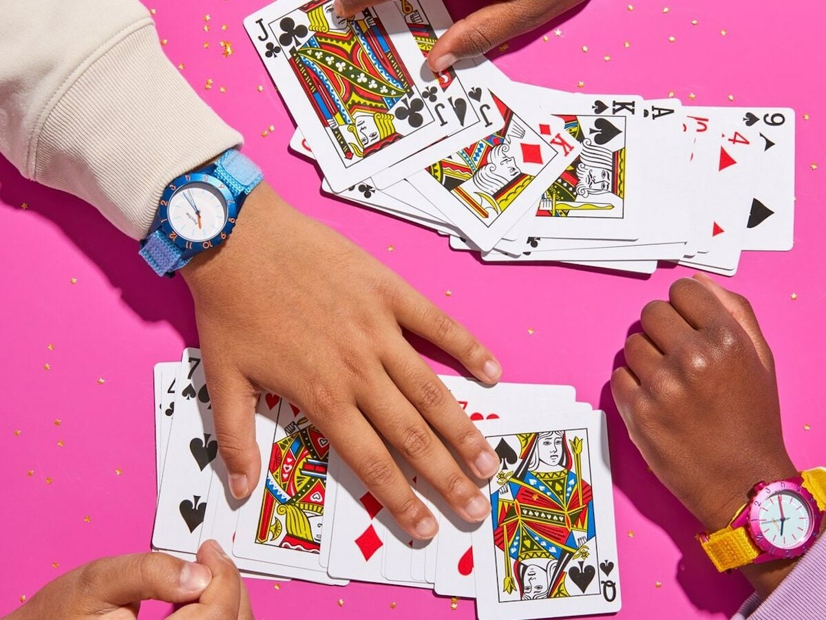 Parchie Pal kids' water-resistant watch collection can withstand up to 30 m of water