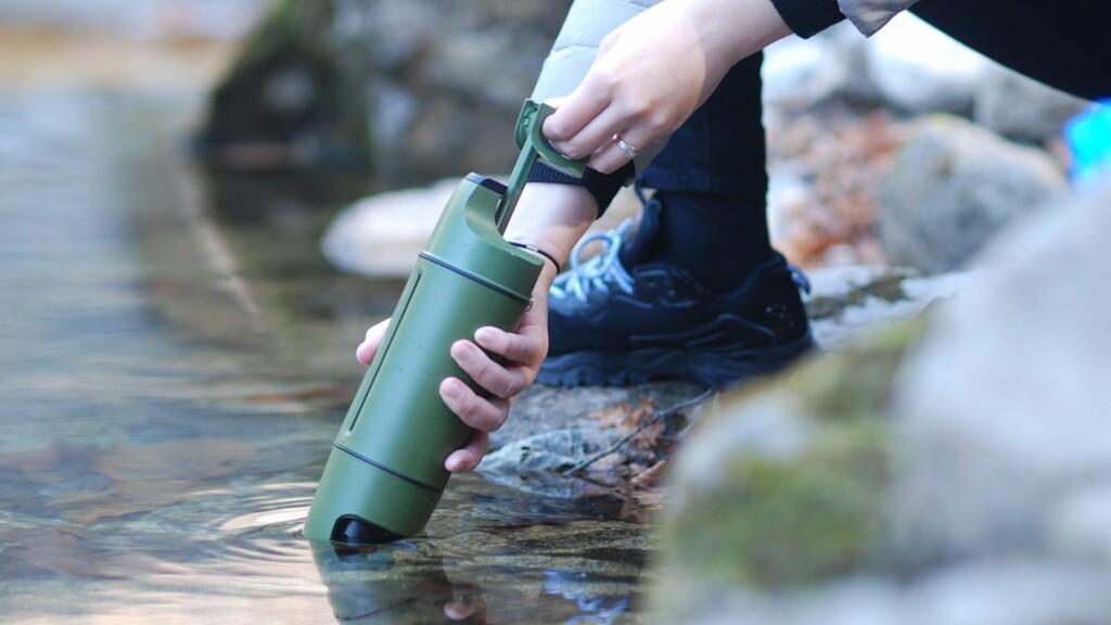 Purisoo+ water purifier bottle