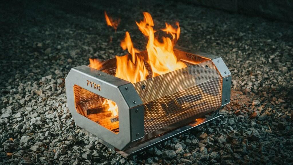 Pyro Portable Camp Fire Pit