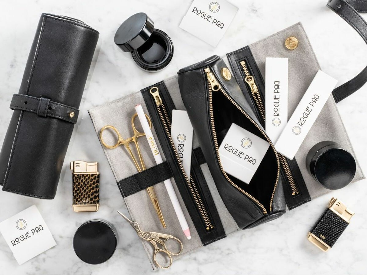 Rogue Paq full ritual gift set is scent-suppressant and made in lambskin or vegan leather thumbnail