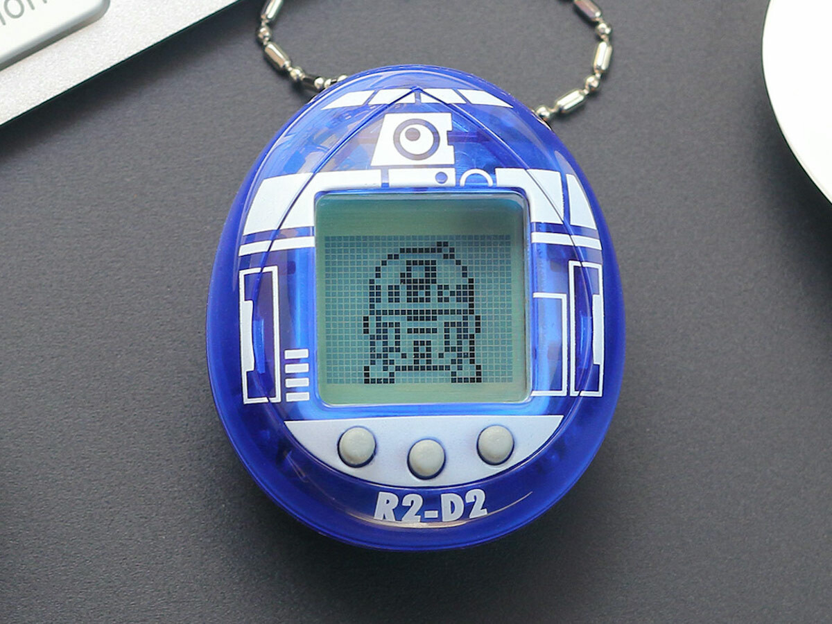 Star Wars R2-D2 Tamagotchi comes with a range of interactive experiences and 19 skills