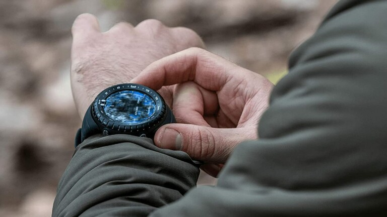 Sunnto Core Classic outdoor watch combines a barometer, altimeter, and weather information