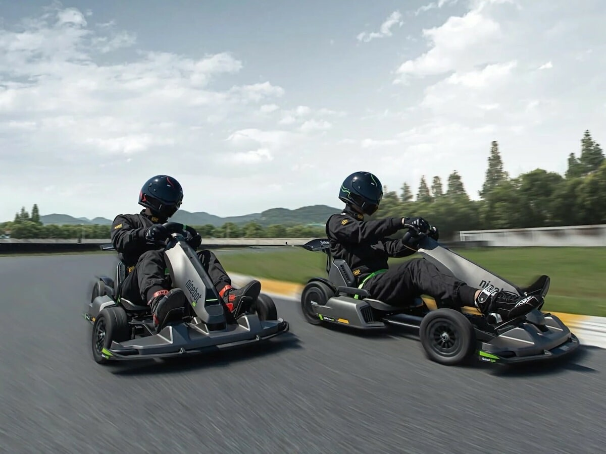 Super Segway Ninebot Gokart PRO offers a completely electric vehicle for racing with speed