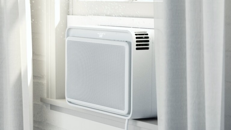 The Windmill AC smart minimalist air conditioner is easy to install and efficient
