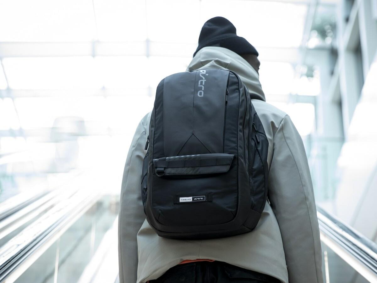 Timbuk2 x ASTRO Gaming BP35 Gaming Backpack has a 35-liter capacity to stow gaming gear