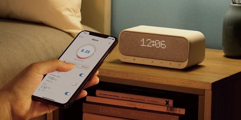 These smart home alarm clocks will help you stop sleeping in too late