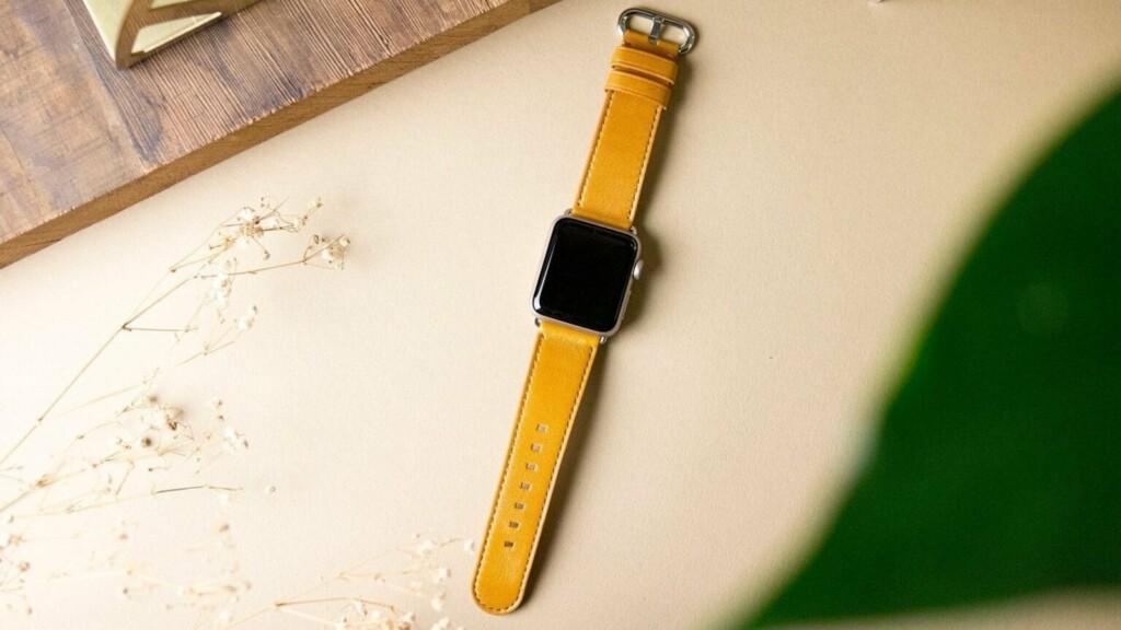 Alto Apple Watch Leather Strap