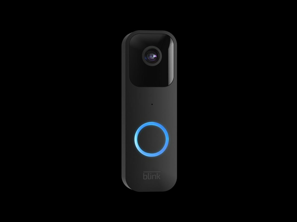Blink Smart Video Doorbell allows you to answer your door anywhere from your smartphone