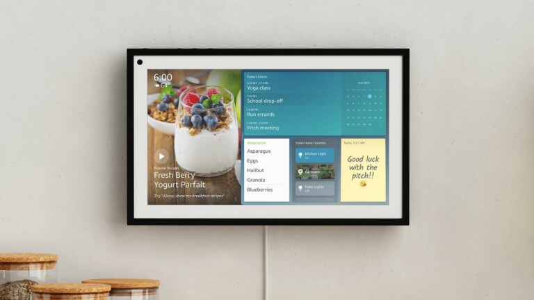 Amazon Echo Show 15 smart display is essentially a wall-mounted smart picture frame