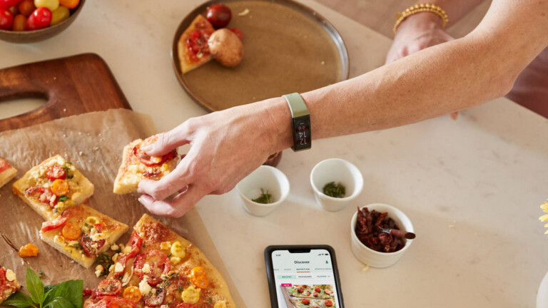 Amazon Halo View fitness band offers a bright AMOLED color display to see health metrics