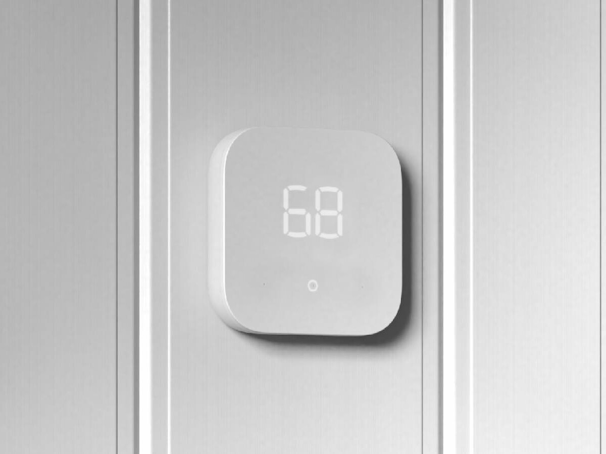 Amazon Smart Thermostat automatically adjusts your indoor environment with advanced tech