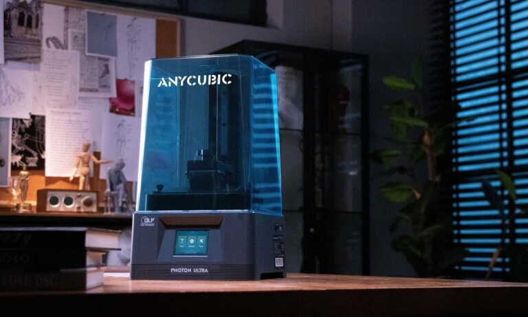 Anycubic Photon Ultra uses a DLP light engine for improved 3D prints