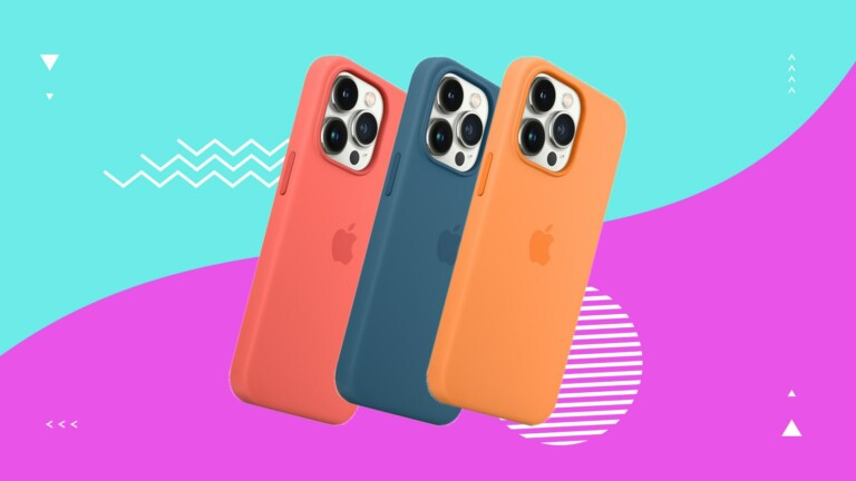 Apple iPhone 13 Pro Silicone Case With MagSafe has a silky finish and a microfiber lining