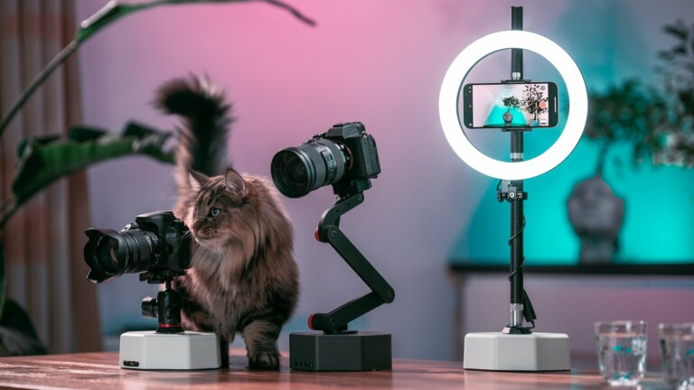 Billy & Billy Pro AI-powered camera robots provide silent, vibration free, & stable video