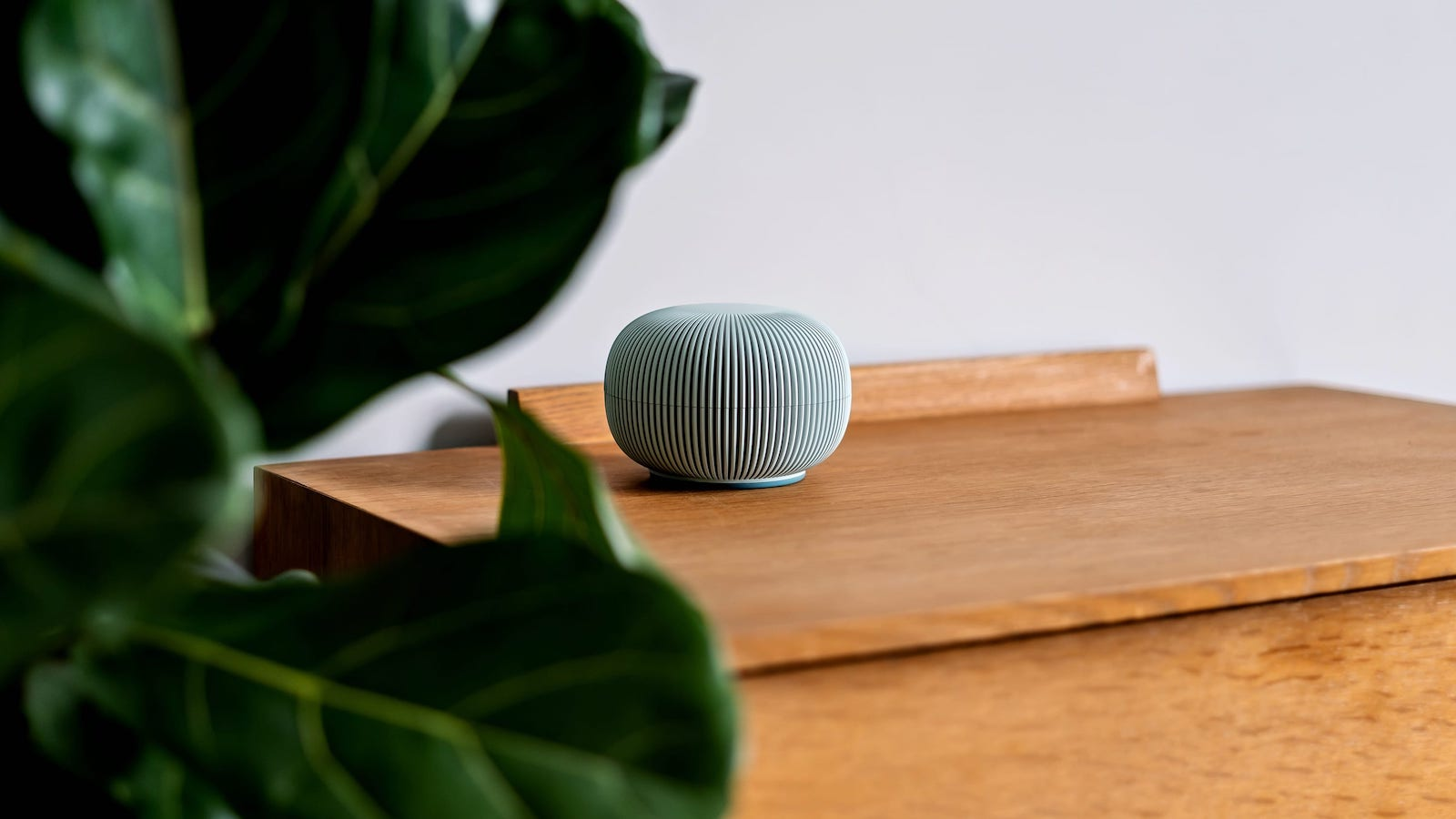 Blond Zobi Hedgehog cyber security device is plug-and-play and protects home networks