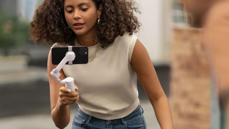 DJI Osmo Mobile 5 smartphone image stabilizer offers enhanced stabilization tech & ActiveTrack 4.0