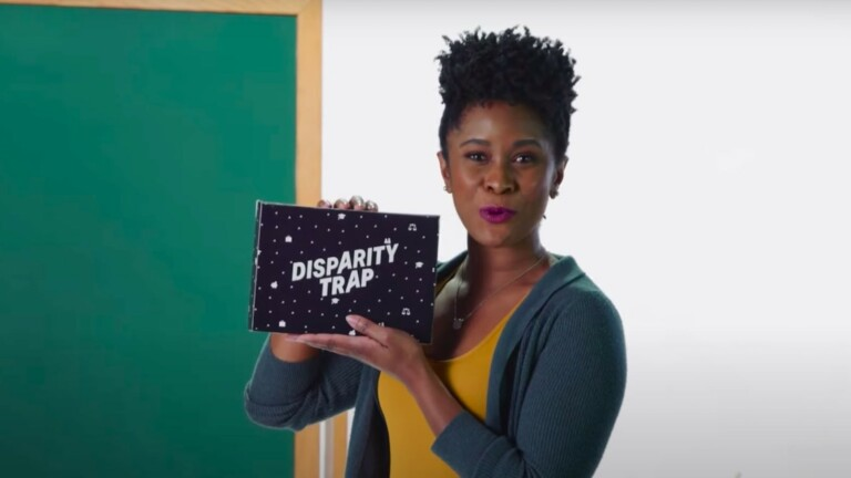 Disparity Trap board game incorporates wealth-building and racial identity aspects