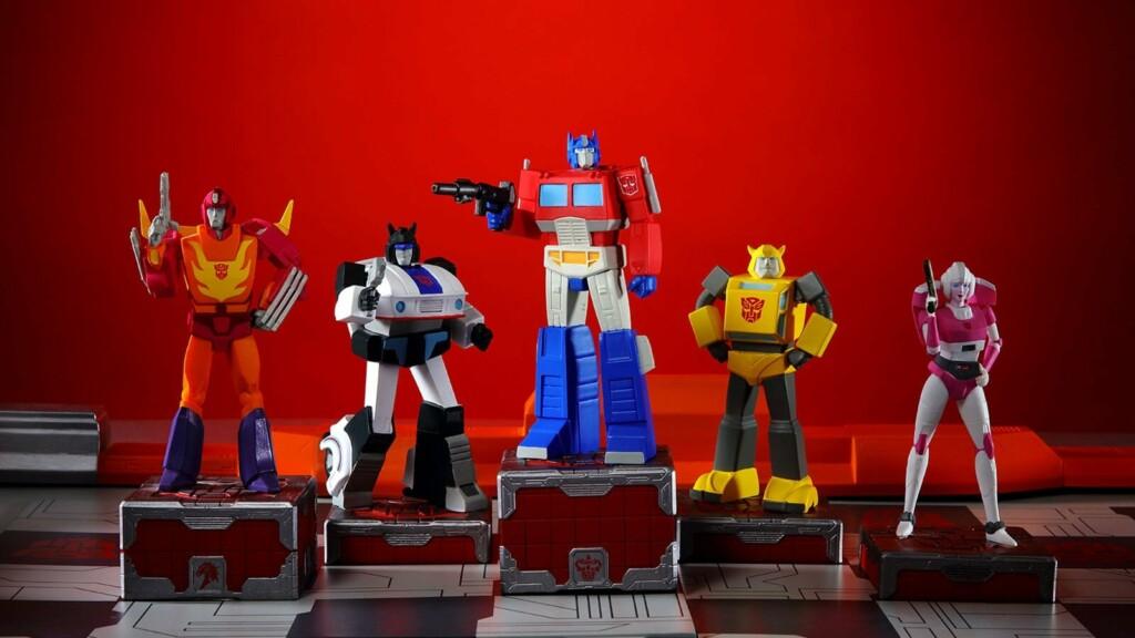Eaglemoss Hero Collector Transformers Gen 1 Chess Set