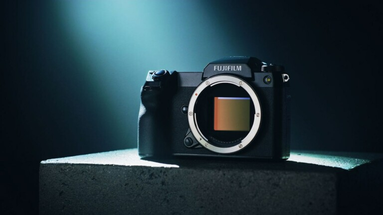 FUJIFILM GFX50S II mirrorless digital camera features a large 51.4 MP image sensor