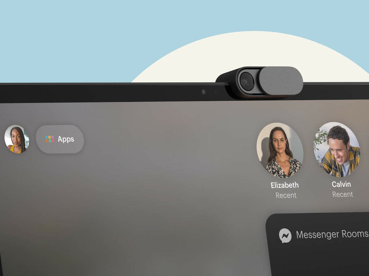 Facebook Portal Plus video-calling device has a tilting HD display & high-fidelity audio