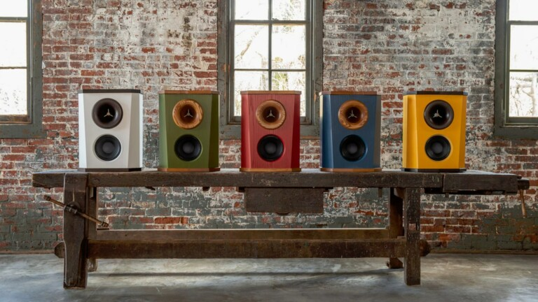 Fleetwood Sound DeVille loudspeaker features an 8-inch woofer for low distortions