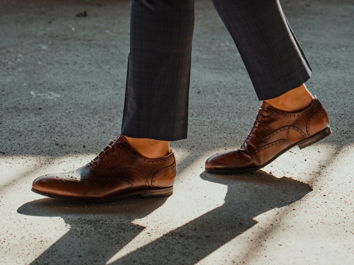 Free Form Shoes barefoot dress shoes have a minimalist design that doesn't cramp your toes