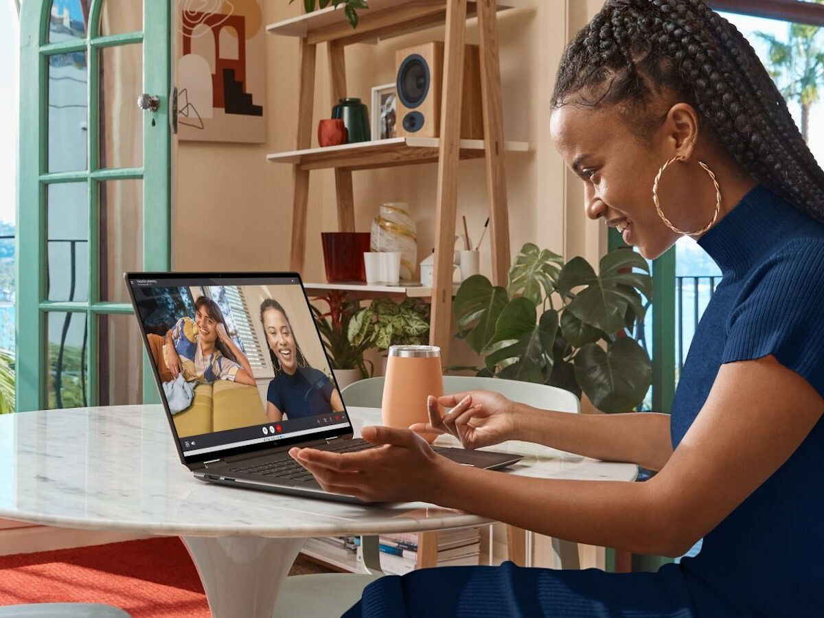 HP Spectre x360 16-inch 2-in-1 Laptop PC features Beauty Mode for enhancements on camera