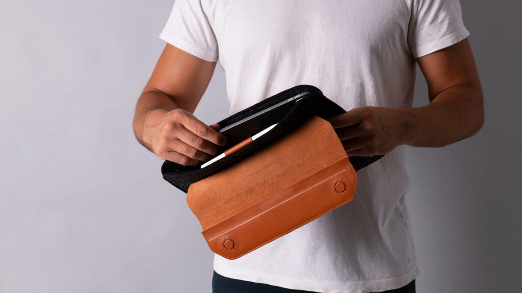 Harber London Magnetic Envelope Sleeve For iPad Pro