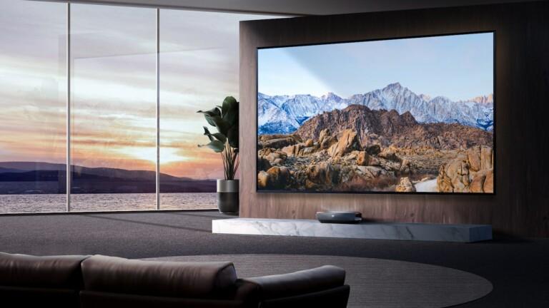 Hisense L9G TriChroma laser TV offers bold colors, voluminous blacks, & Dolby Atmos sound