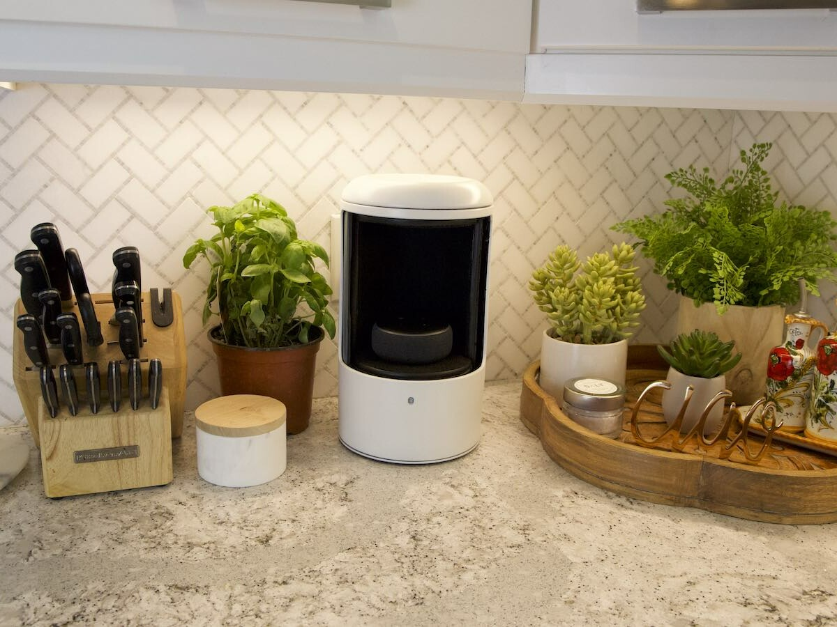 Hive Security smart speaker acoustic insulator stops your smart assistant from listening