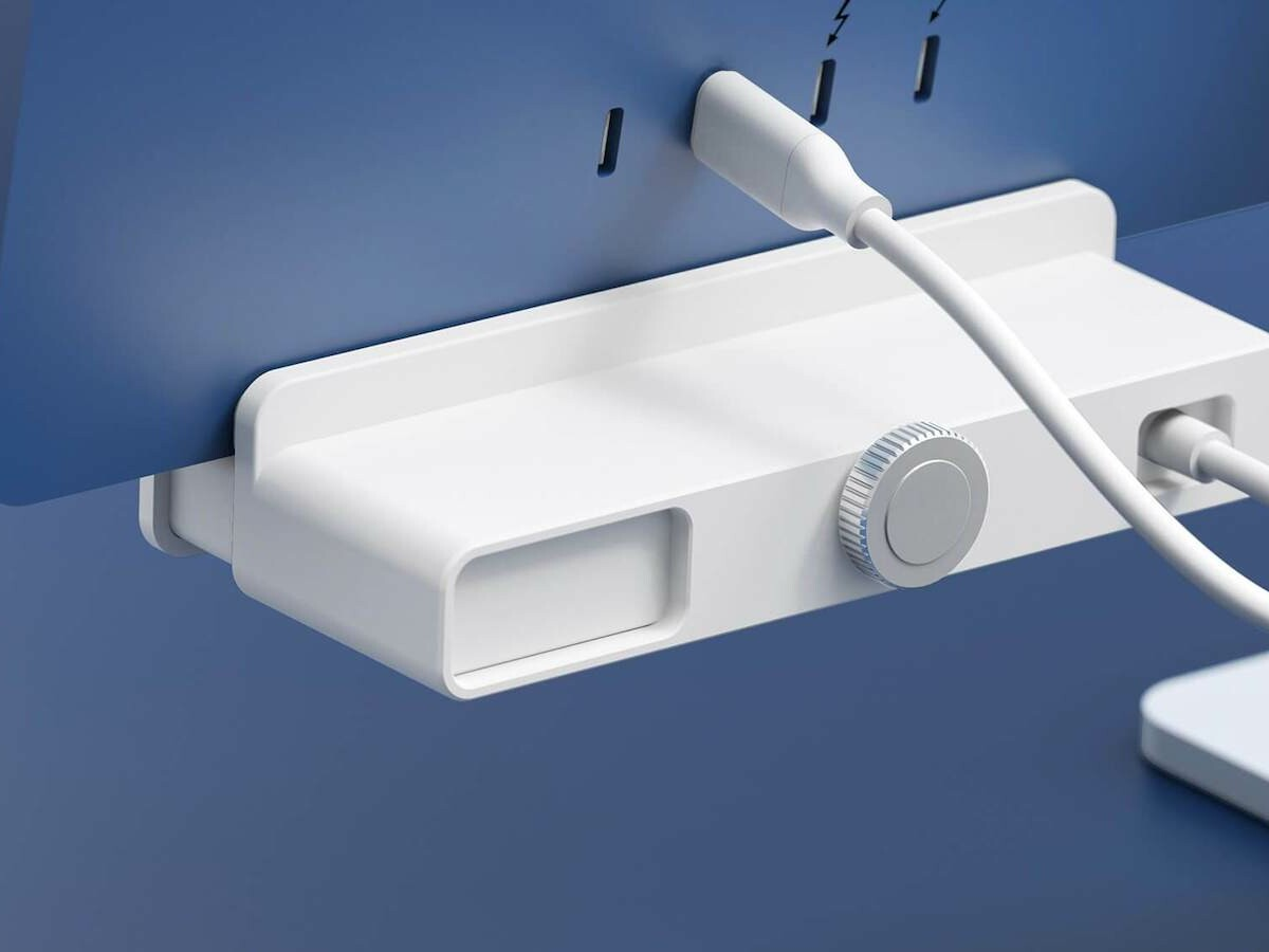 HYPER HyperDrive USB-C Hubs for iMac 24-inch gives you more ports and a clamp-on design