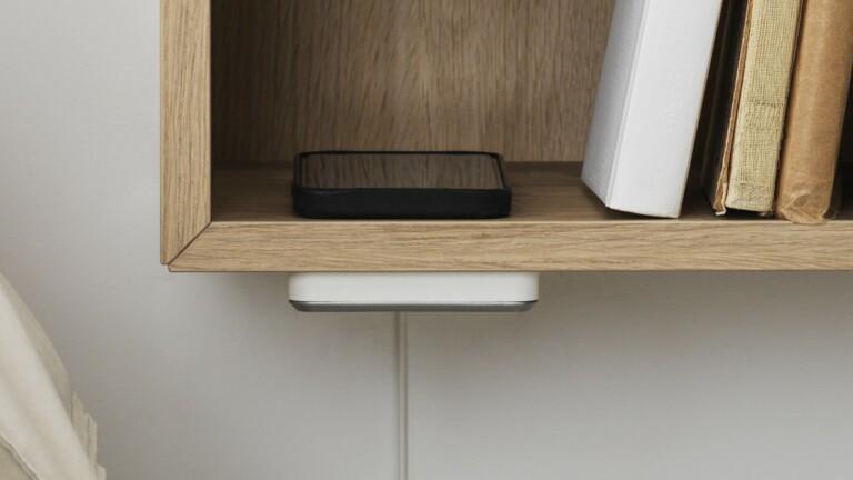 IKEA SJÖMÄRKE wireless charger adds a cord-free charging hotspot beneath your desk