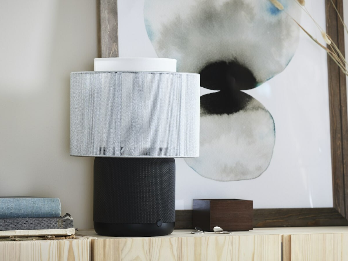 IKEA x Sonos SYMFONISK 2nd-gen table lamp speaker streams music and sets ambiance