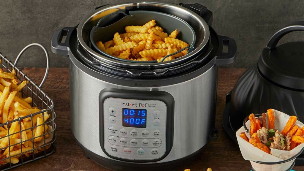 Smart cooking gadgets for healthy and tasty recipes Instant Pot Duo Crisp + Air Fryer