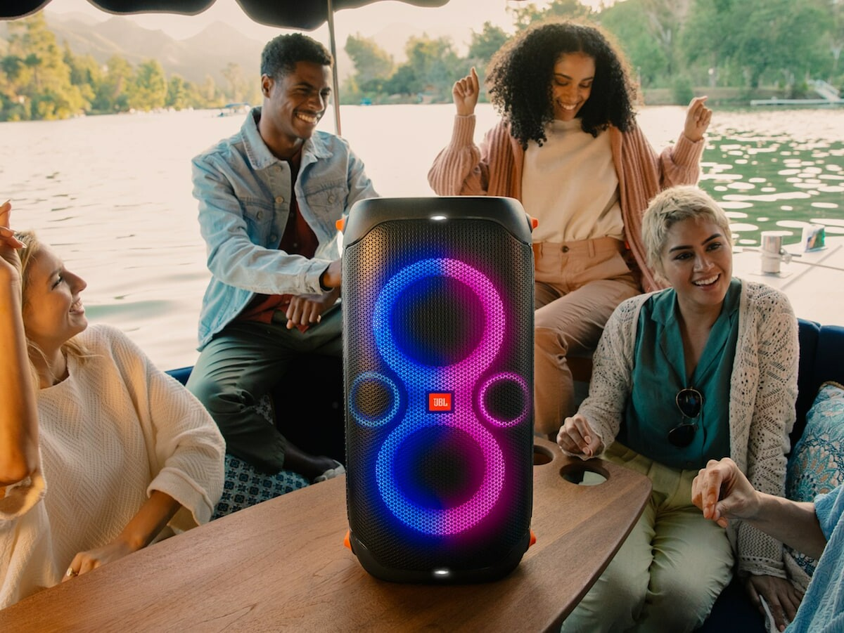 JBL PartyBox 710 and PartyBox 110 party speakers provide powerful sound on wheels