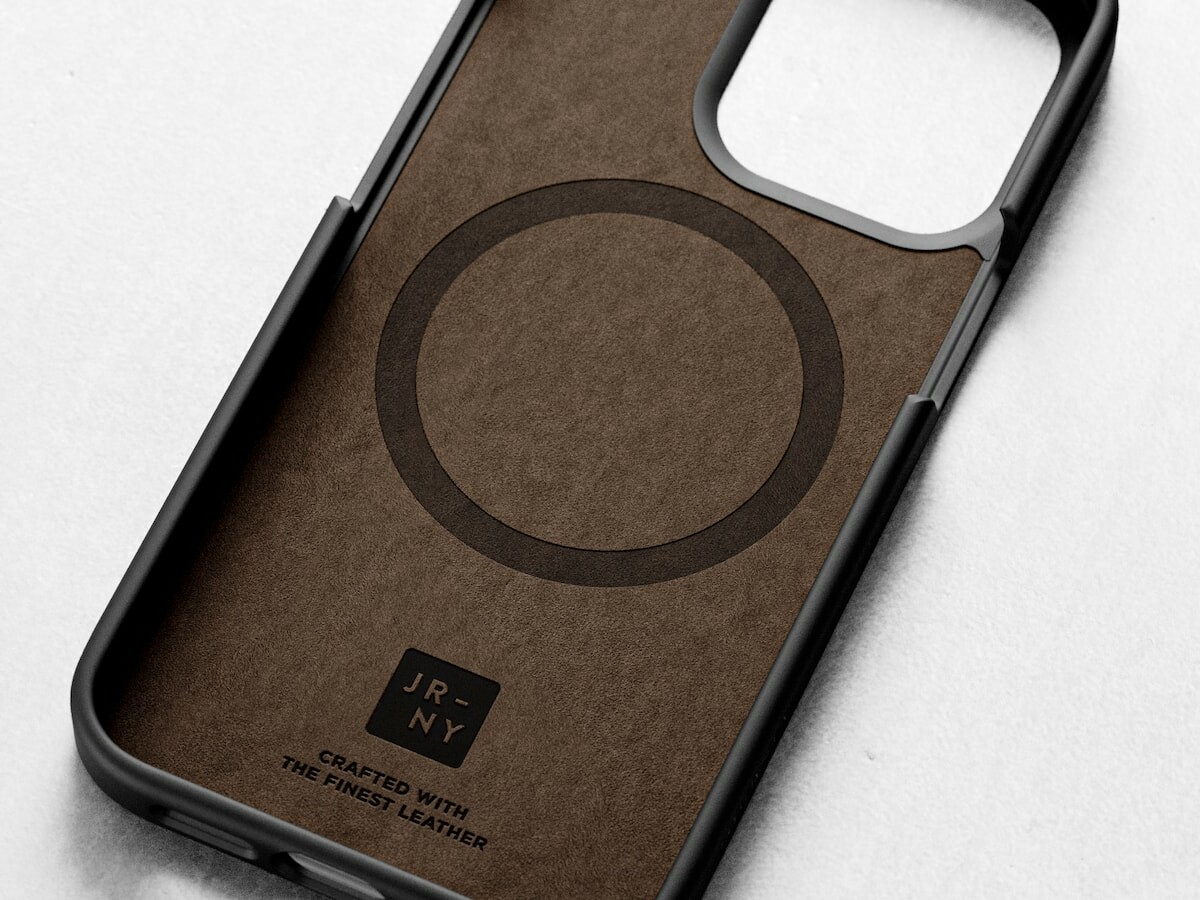 Journey iPhone 13 Leather Case has a rugged and slim construction for extra protection