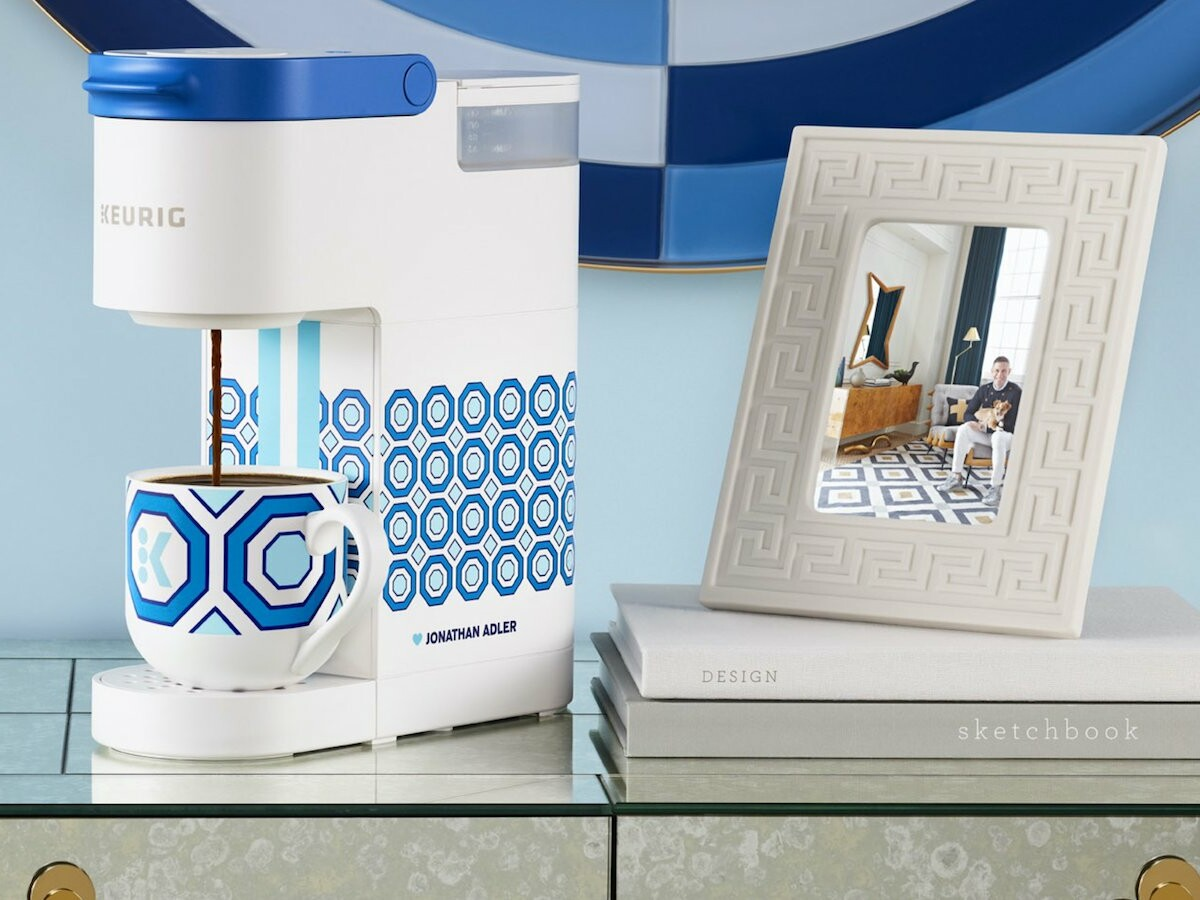 Keurig x Jonathan Adler Limited-Edition K-Mini Brewer brings style and taste to any space