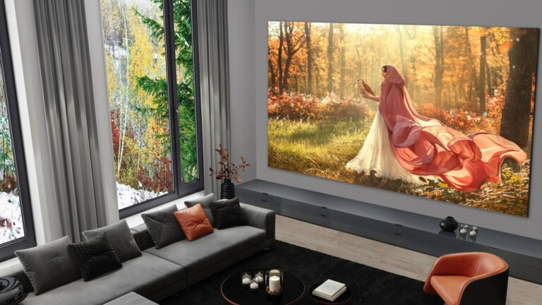LG Direct View LED Extreme Home Cinema Display delivers screen sizes of 108 to 325 inches