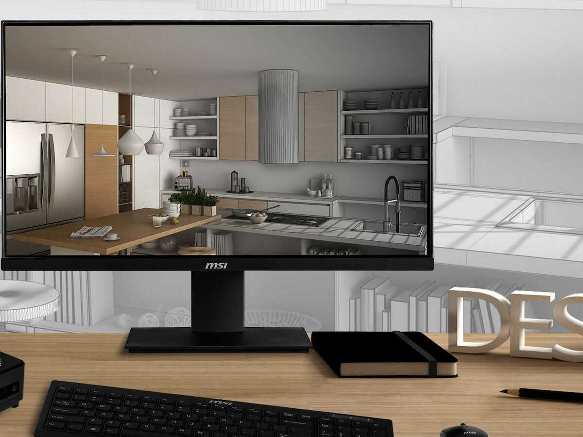MSI PRO MP241 23.8-inch monitor delivers Full HD resolution and an antiglare display