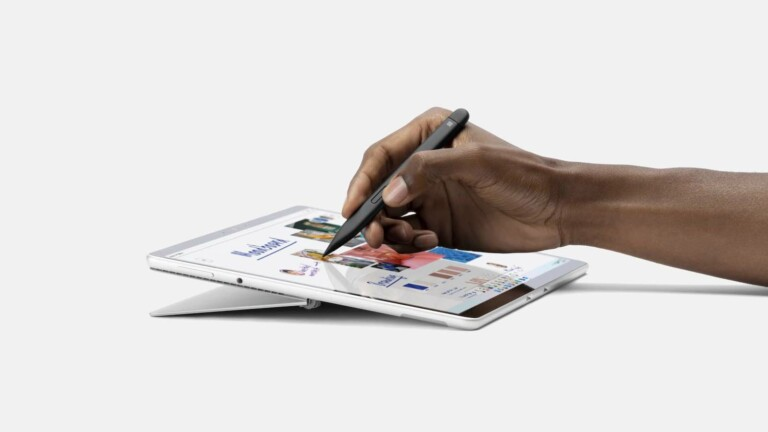Microsoft Surface Slim Pen 2 haptic stylus has a more detailed tip for improved accuracy