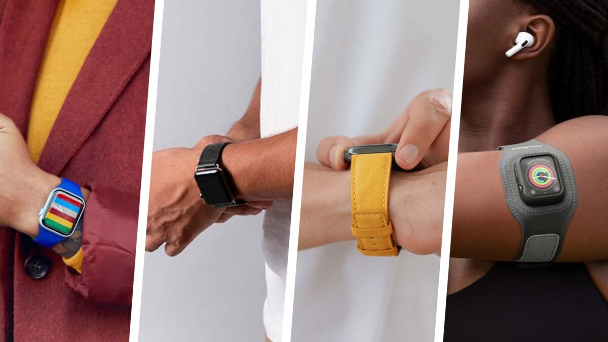 Best bands and straps for the upcoming Apple Watch Series 7