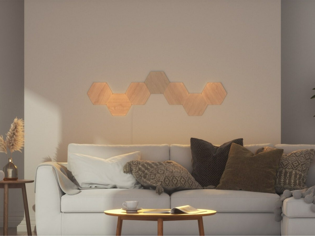Nanoleaf Elements bespoke wall lighting lets you customize illumination in your home