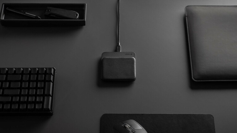 Nomad Base Station Mini Magnetic Wireless Charger has a 15-watt transmitter coil