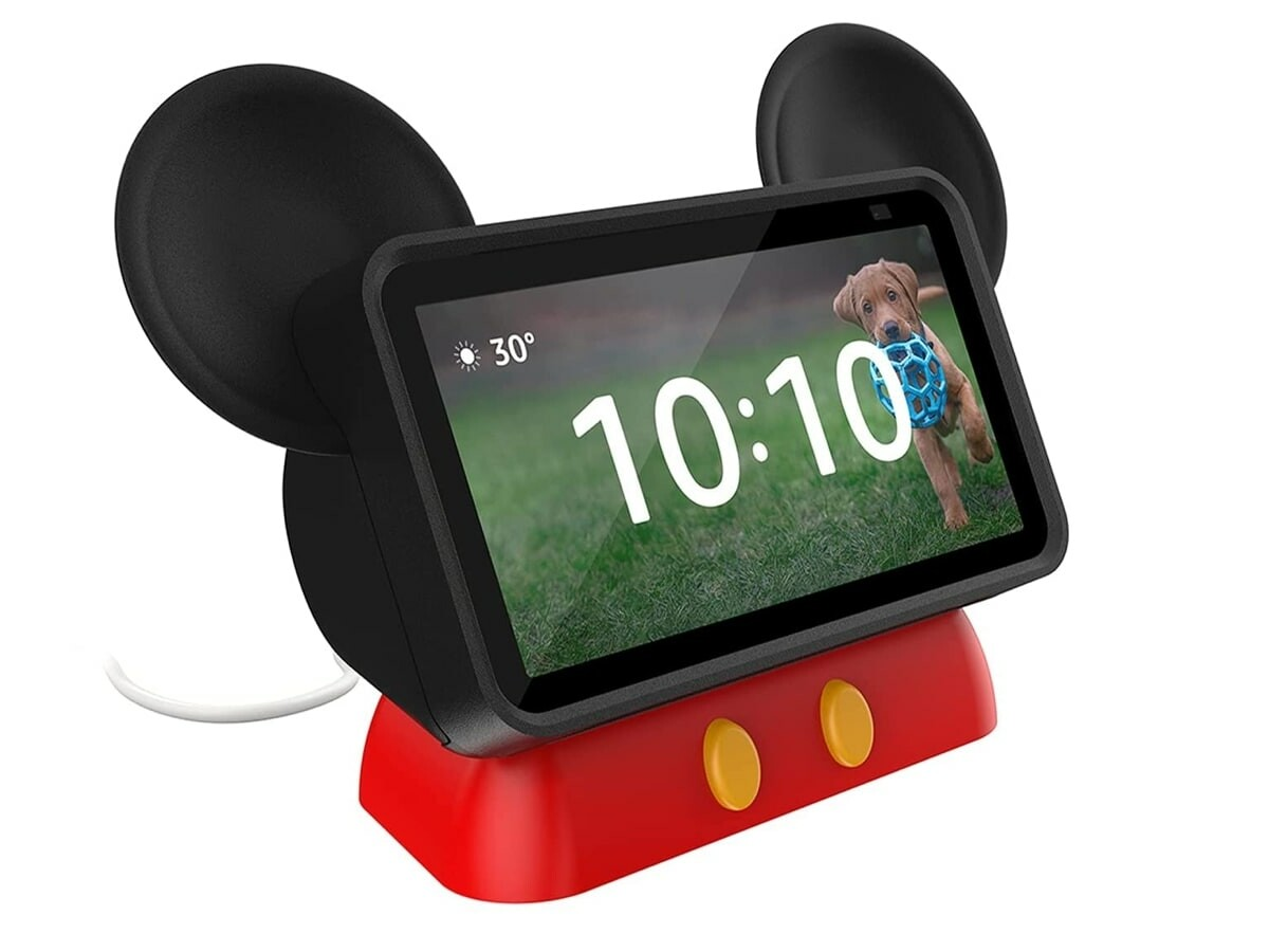 OtterBox Amazon Echo Show 5 Den Series Mickey Mouse tablet stand injects some fun