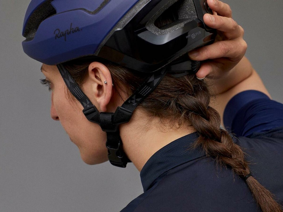 RAPHA x POC multipurpose protection helmets feature an EPS liner to protect your head