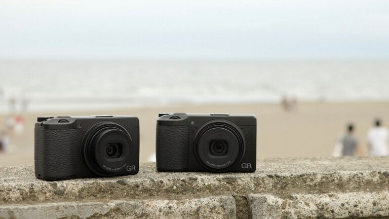 RICOH GR IIIx camera incorporates a 26.1 mm F2.8 GR lens and a GR ENGINE 6 imaging engine